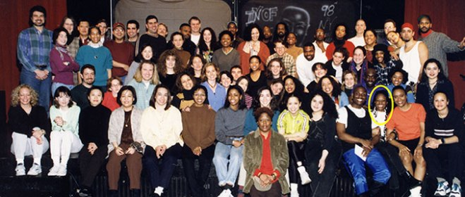 1998 CAT Staff Photo (LCP is circled)
